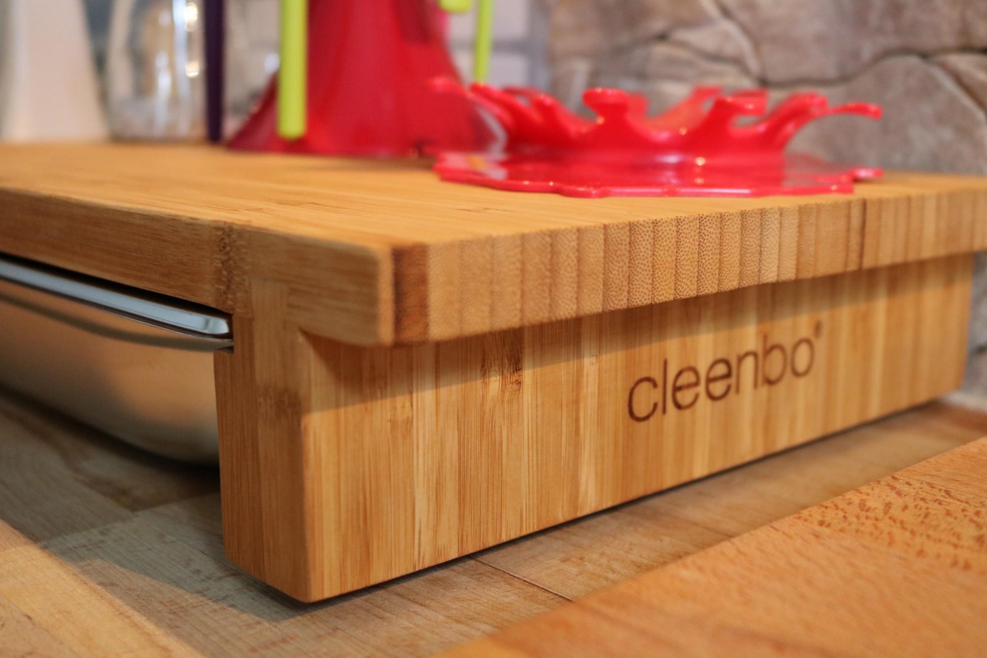 cleenbo sauber geschnibbelt! #kitchen #schneidebrett mit
