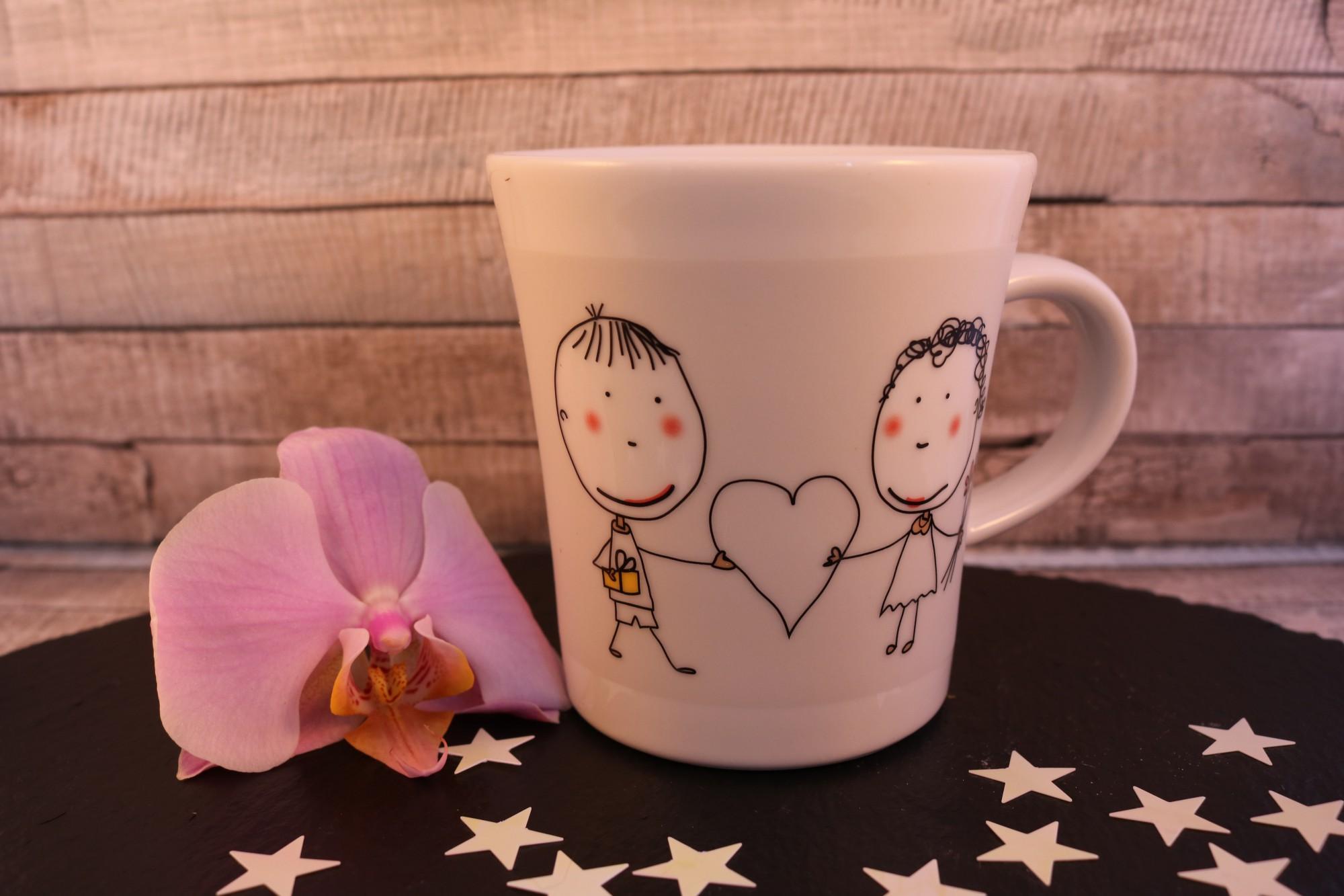KAHLA NOTES kleine Liebesbotschaften auf der Tasse hinterlassen ...