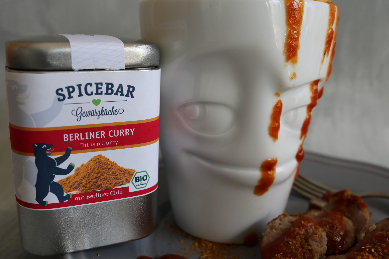 SPICEBAR Berliner Curry & Kartoffelknaller *MAN SIND DAS GEWÜRZE ...