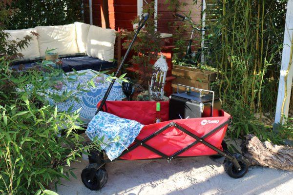 ein faltbarer bollerwagen f r alle lebenslagen sekey faltbarer bollerwagen outdoor sekey. Black Bedroom Furniture Sets. Home Design Ideas